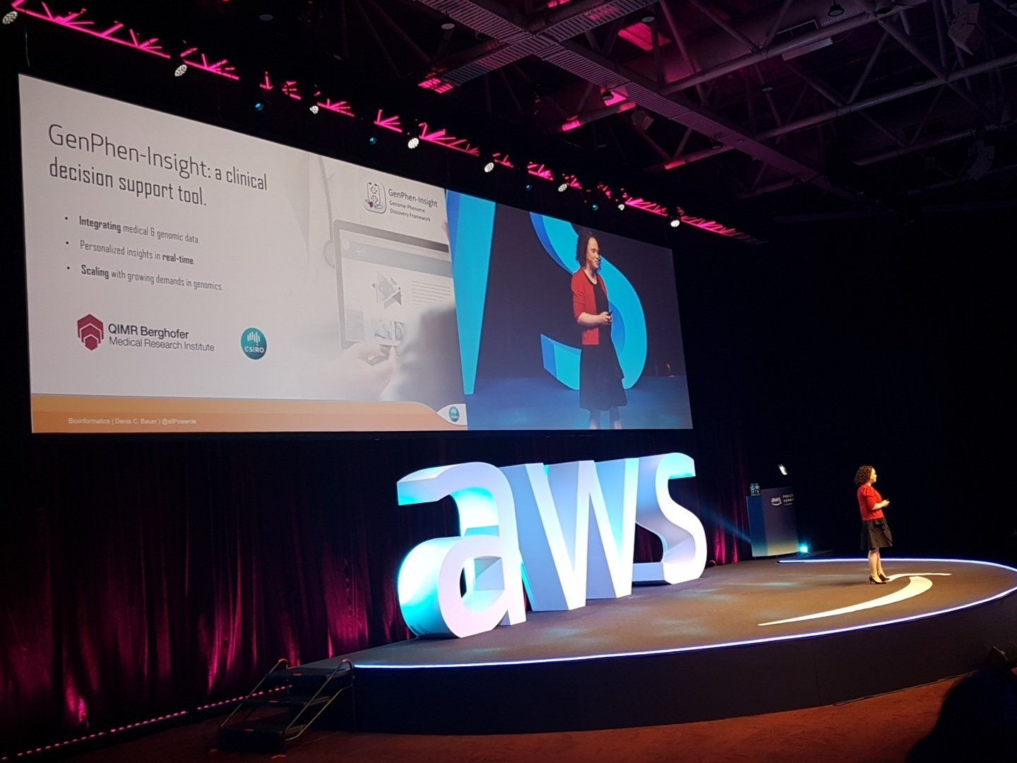 Let's build a healthier Australia together: Keynote AWS Public Sector Summit.